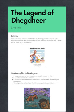 The Legend of Dhegdheer