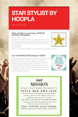 STAR STYLIST BY HOOPLA