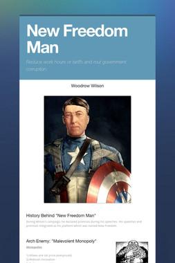 New Freedom Man