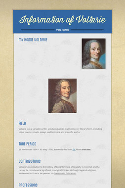 Information of Voltarie