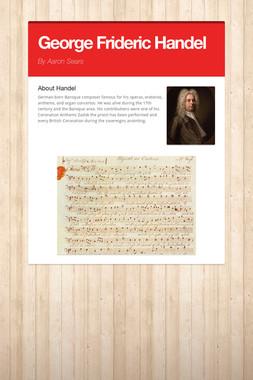 George Frideric Handel