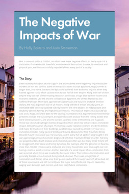 The Negative Impacts of War