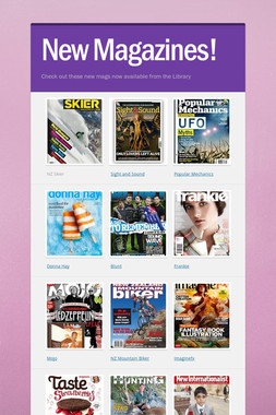 New Magazines!
