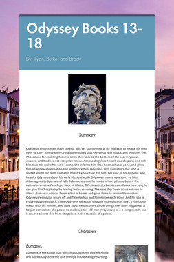 Odyssey Books 13-18
