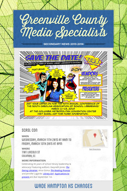 Greenville County Media Specialists