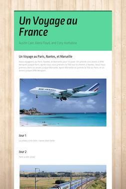 Un Voyage au France