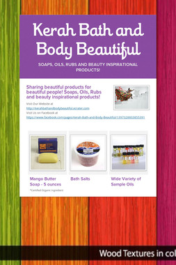 Kerah Bath and Body Beautiful
