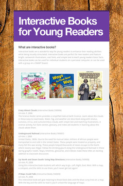 Interactive Books for Young Readers