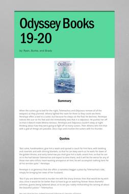 Odyssey Books 19-20