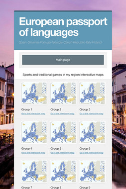 European passport of languages