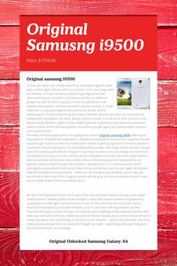 Original Samusng i9500