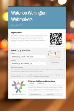 Waterloo Wellington Webmakers