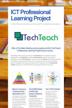 ICT Professional Learning Project