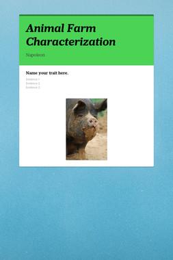 Animal Farm Characterization