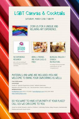 LGBT Canvas & Cocktails