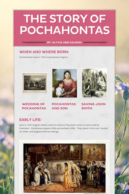 The story of Pochahontas