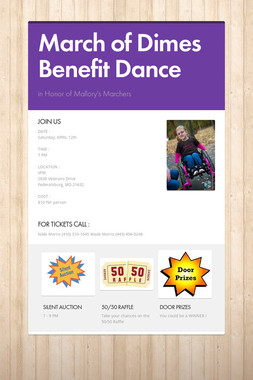 March of Dimes Benefit Dance