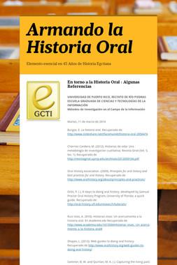 Armando la Historia Oral