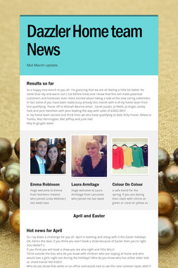 Dazzler Home team News