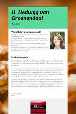 11. Hedwyg van Groenendaal