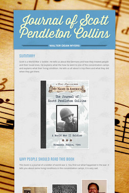 Journal of Scott Pendleton Collins
