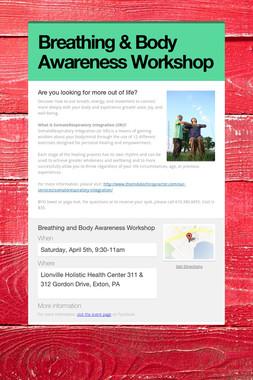 Breathing & Body Awareness Workshop