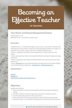 Becoming an Effective Teacher
