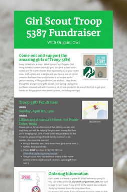 Girl Scout Troop 5387 Fundraiser