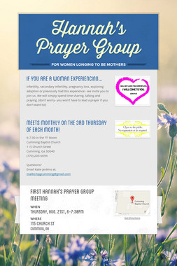 Hannah's Prayer Group