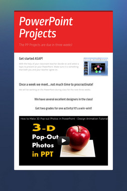 PowerPoint Projects