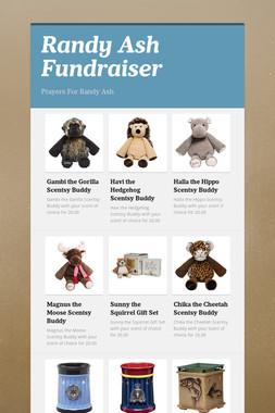 Randy Ash Fundraiser