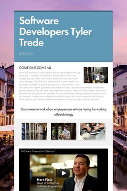 Software Developers Tyler Trede