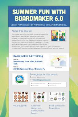 Summer Fun with Boardmaker 6.0