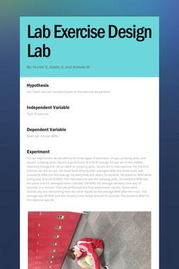 Lab Exercise Design Lab