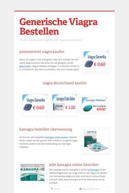 Generische Viagra Bestellen