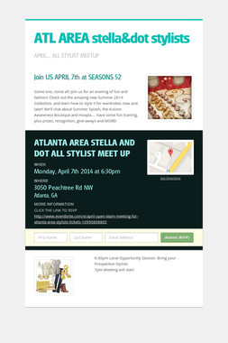 ATL AREA  stella&dot stylists