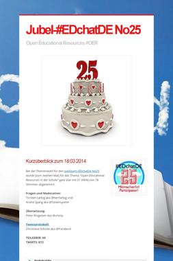 Jubel-#EDchatDE No25