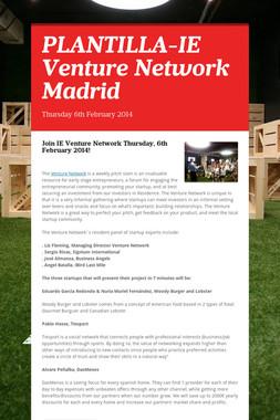 PLANTILLA-IE Venture Network Madrid