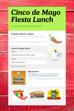 Cinco de Mayo Fiesta Lunch