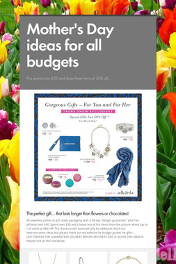 Mother's Day ideas for all budgets
