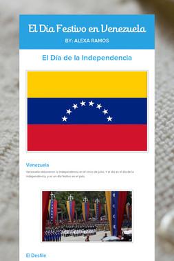 El Día Festivo en Venezuela