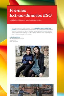 Premios Extraordinarios ESO
