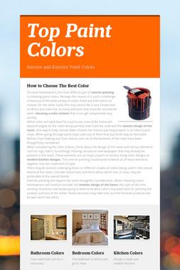 Top Paint Colors
