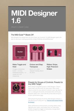 MIDI Designer 1.6