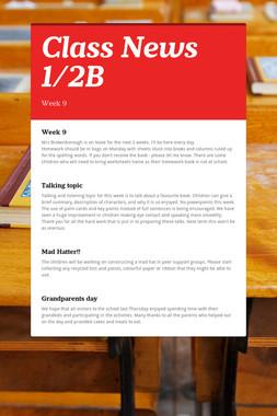 Class News 1/2B
