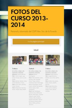 FOTOS DEL CURSO 2013-2014