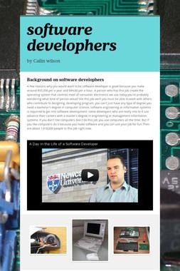 software develophers