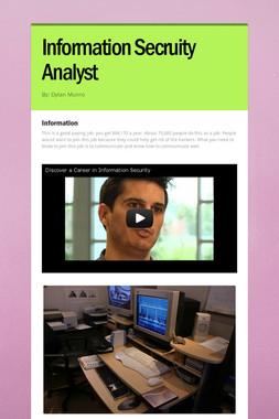 Information Secruity Analyst