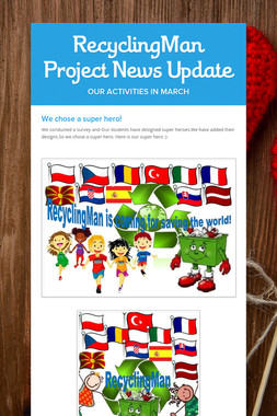RecyclingMan Project News Update
