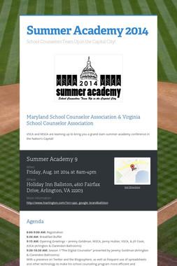 Summer Academy 2014